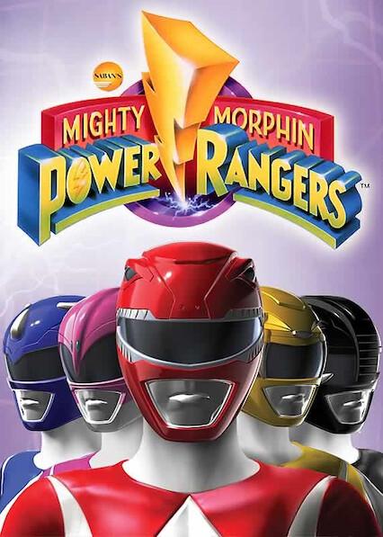 Mighty Morphin Power Rangers sur Netflix USA